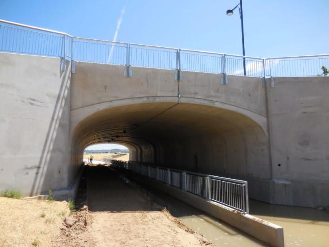Pedestrian Underpass at Sand Hills Prairie Park