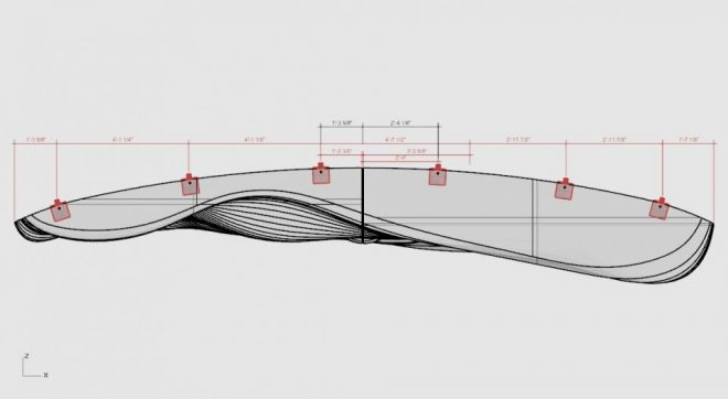 technical drawings for Drift Inversion by Aaron Whelton