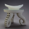 Ceramic table with Tentacle Legs