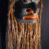 Alder mask with shredded cedar bark hair called Wigyet