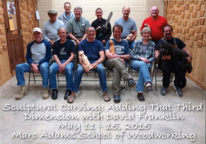 Sculptural Carving Class 2015