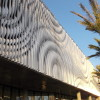 detail of the California Rain Sculptural Facade