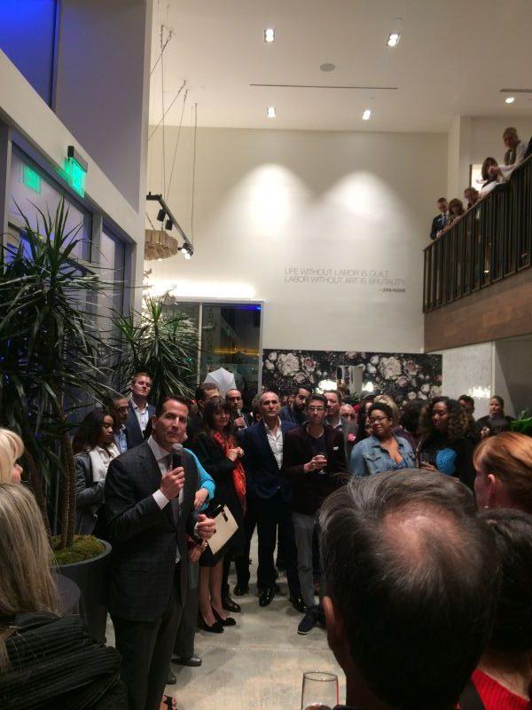 David Kohler speaking at the Grand Opening of KEC LAX