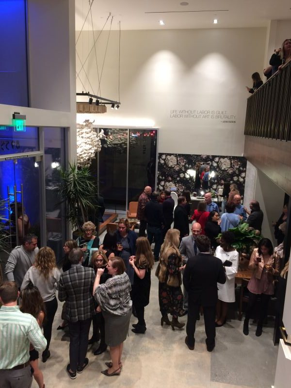 The grand opening of the Kohler Experience Center LAX