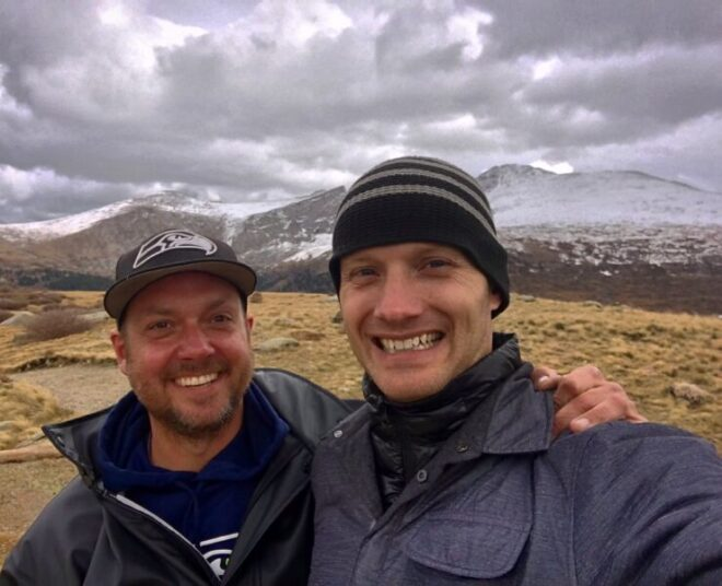 David Franklin and Aaron Whelton in Colorado
